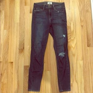 Paige Horton Ankle Skinny sz 26 Silas Wash